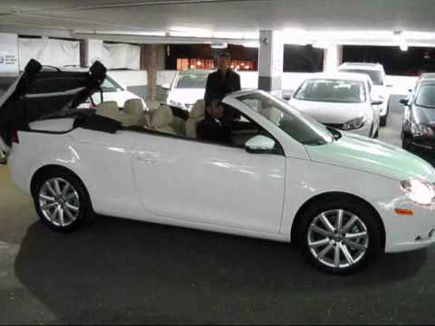 2010 volkswagen eos convertible walkaround youtube. Black Bedroom Furniture Sets. Home Design Ideas