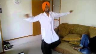 bhangra on english song