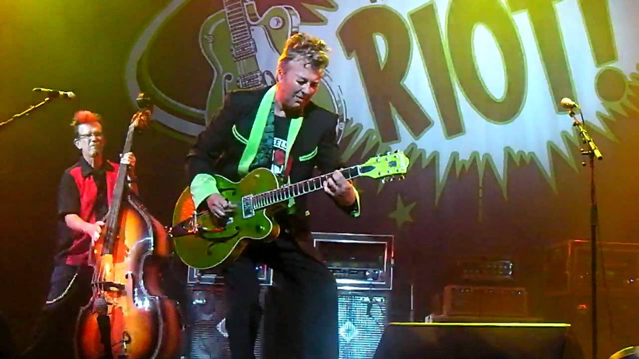 Brian Setzer Rockabilly Riot   This Cats On A Hot Tin Roof