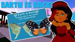 EARTH IS BACK! DIVINIA IS GONE FOREVER?! BRAND NEW WINGS! | ROBLOX ROYALE HIGH