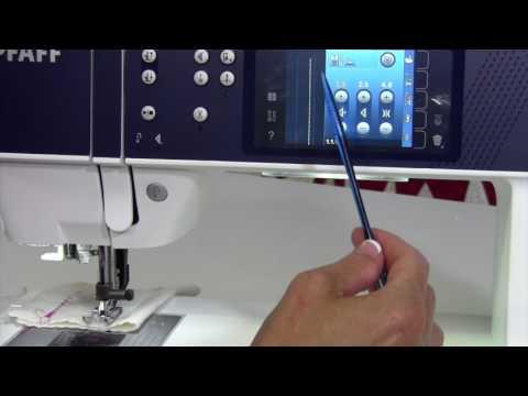 Pfaff Performance 5.2 - 11 Needle Positions