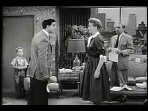 Make Room for Daddy, Season 2, Episode 1,  Family Troubles  1954