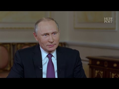 Putin Says Trust Has Eroded Between The U.S. And Russia Under Trump