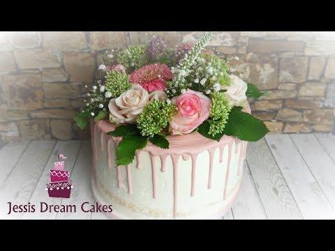 Zuckerblumen Fondant Blumen Ohne Draht Tortendeko Rosen In Rosa