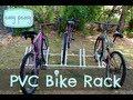 DIY PVC Bike Rack