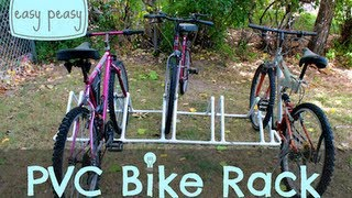 Diy Pvc Bike Rack