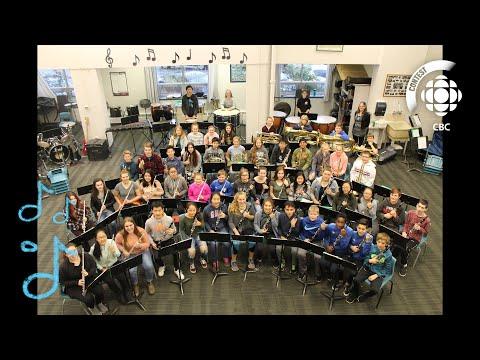 Hallelujah - Queen Charlotte Intermediate School #CBCMusicClass