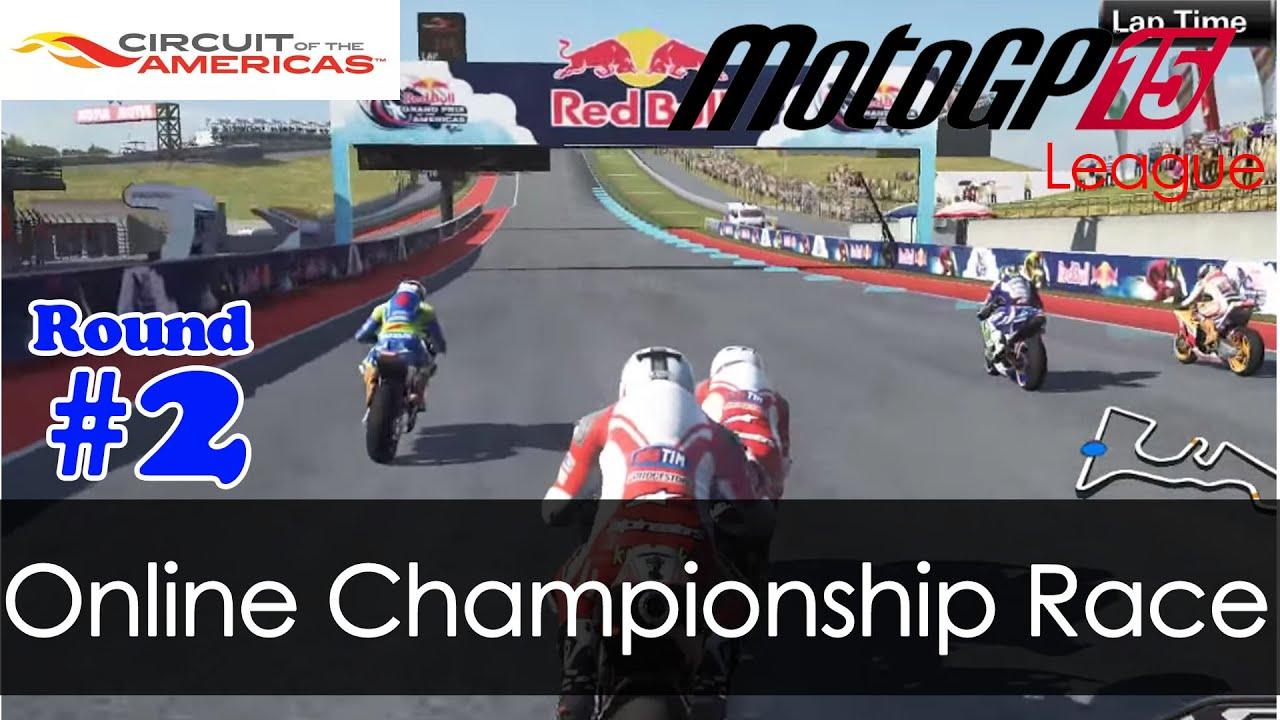 MotoGP15 - Multiplayer - Full Race (15laps) - Austin Round 2 (PC Full HD 1080p) - YouTube