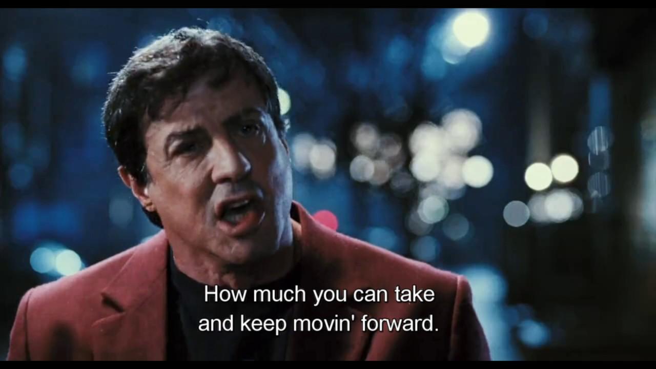Download Rocky Balboa inspirational speech to son (Full scene)