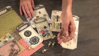 Prima  - Tea Thyme Embellishment Kit