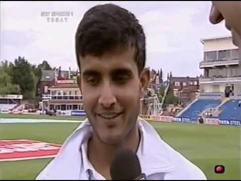 *RARE* Sachin & Sourav INTERVIEW Post Demolishing Eng Bowlers  - DAY 2, Headingly '02