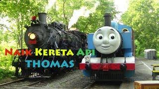 Lagu Naik Kereta Api - Kereta Thomas Asli - Lagu Anak Indonesia Populer