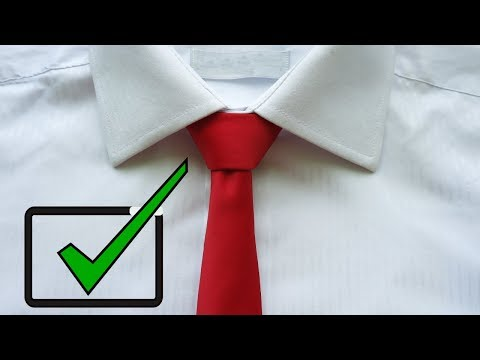 How to Tie a Tie easy way for BEGINNERS (2019)