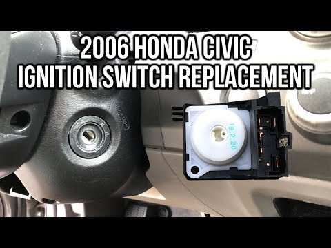 2006 Honda Civic Ignition Switch Replacement - YouTube