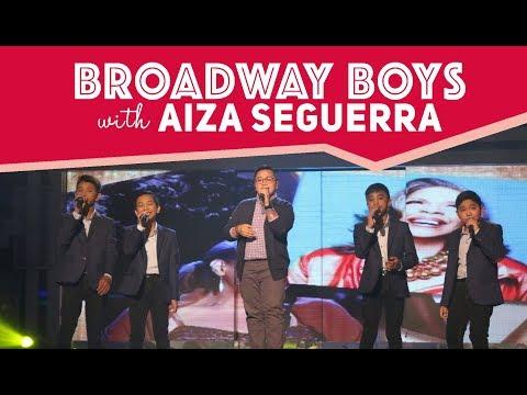 Broadway Boys with Aiza Seguerra | February 10, 2018