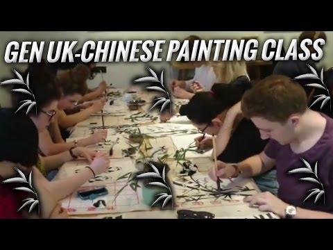 Generation UK - Chinese painting class