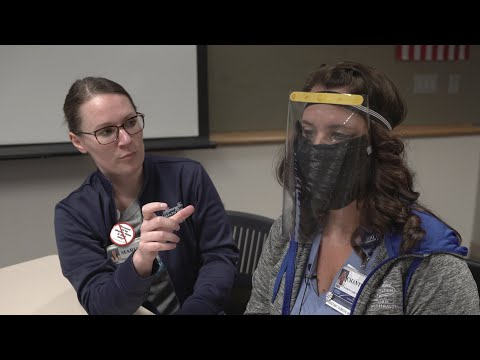 DIY Face Mask For Coronavirus - Innovative Solutions To PPE Shortage At Henry Ford Allegiance Health
