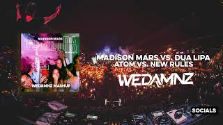 Madison Mars vs. Dua Lipa - Atom vs. New Rules (WeDamnz Mashup)
