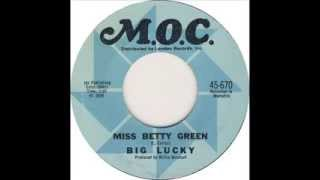 Miss Betty Green -  Big Lucky Carter