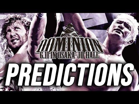 NJPW Dominion 2018 Predictions