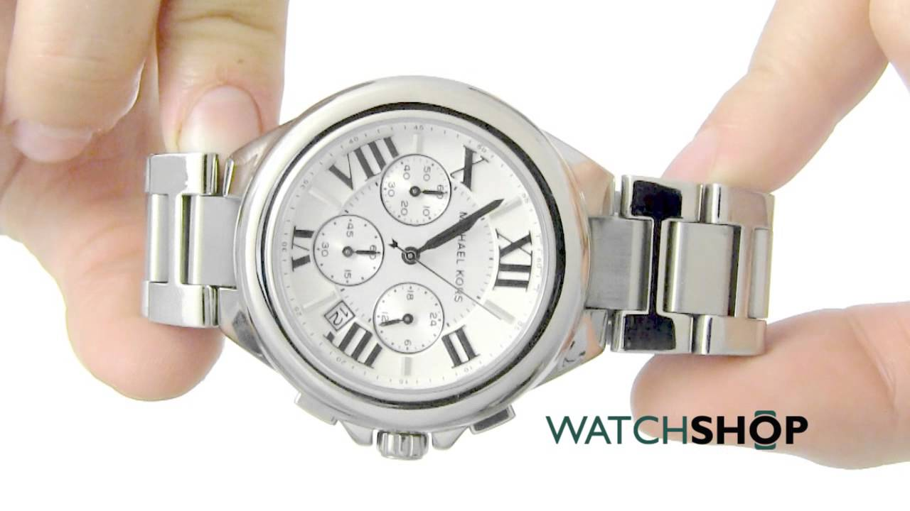 fc4fea752e0c Michael Kors Ladies  Camille Chronograph Watch (MK5719) - YouTube