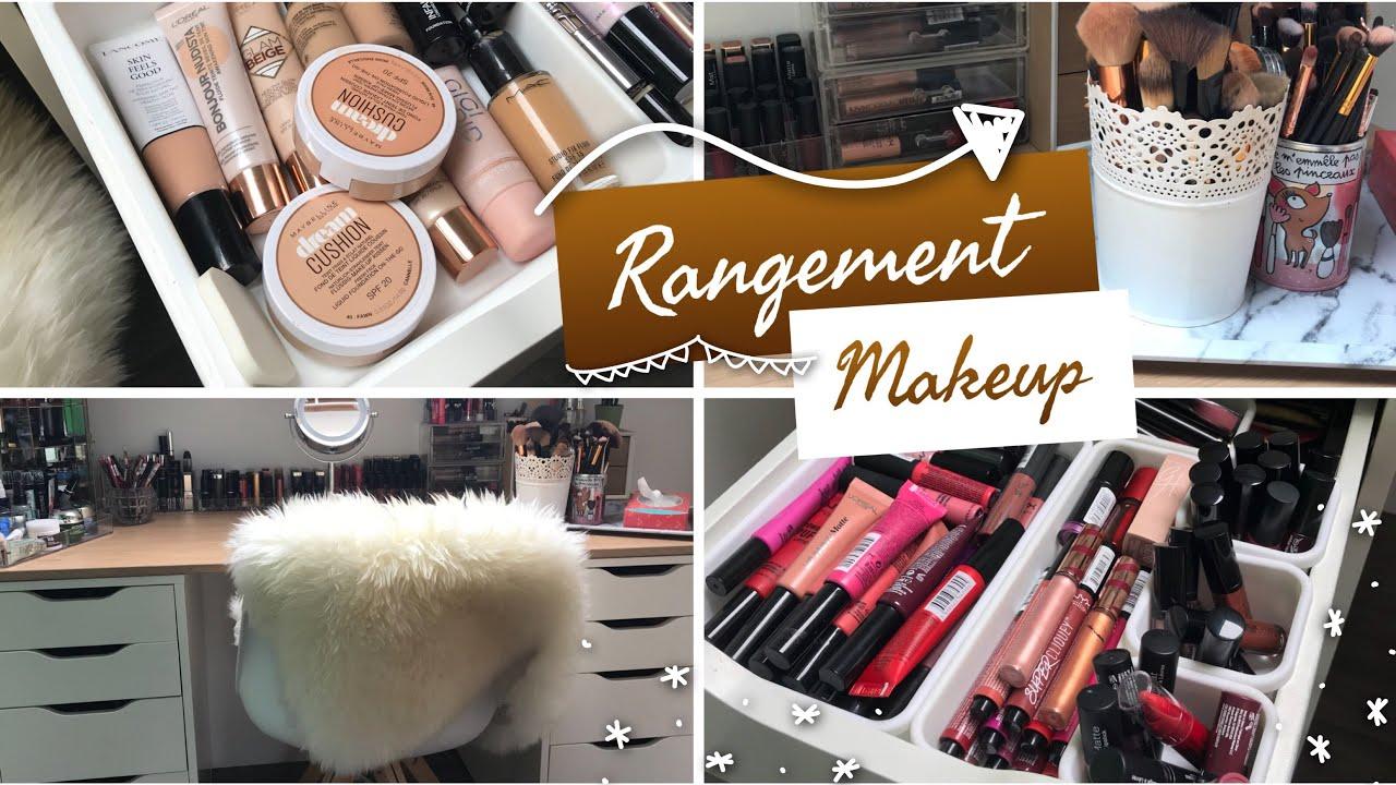 Rangement A Maquillage 2018 Organisation Rangements Pas Chers Youtube
