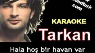 Tarkan - Yandım karaoke