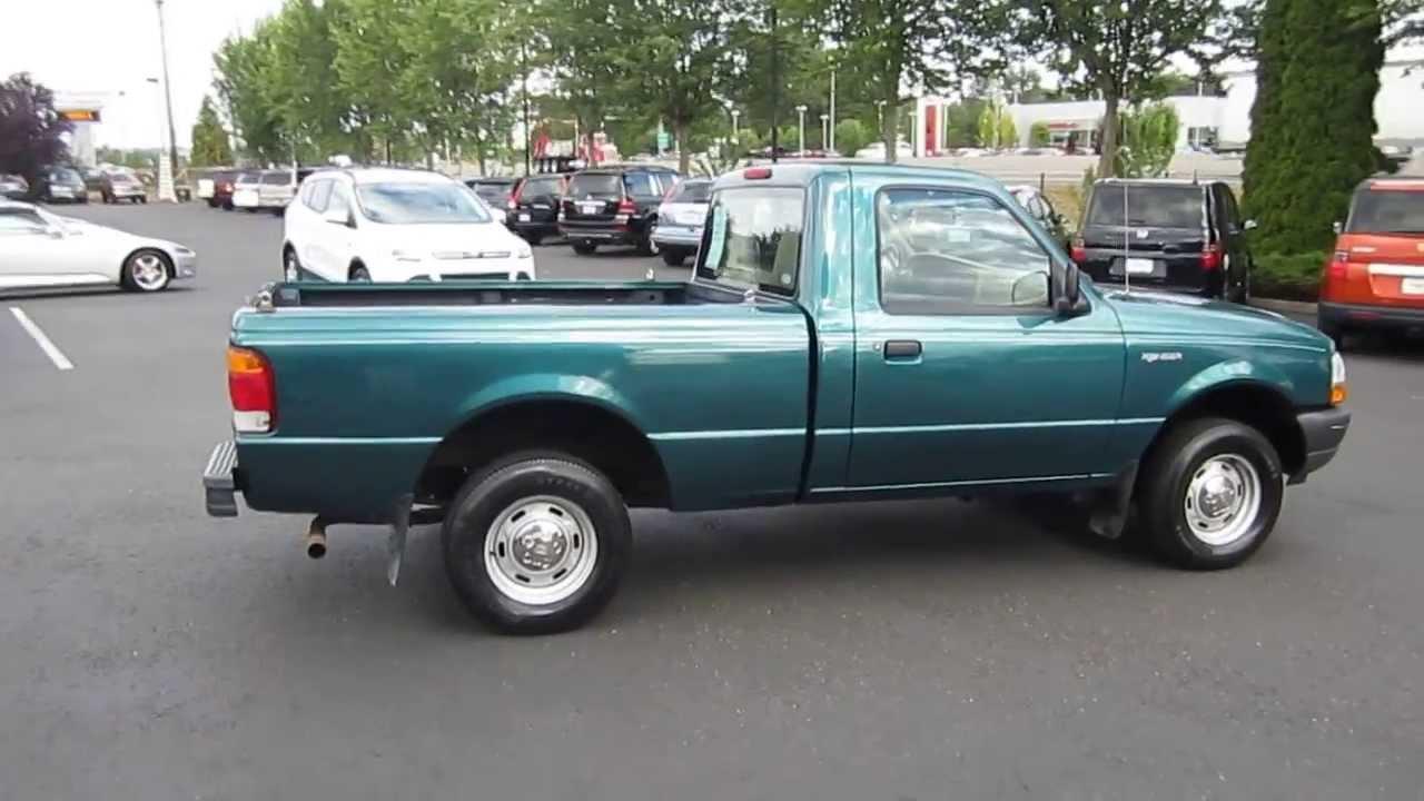 1998 ford ranger green stock 731039 youtube