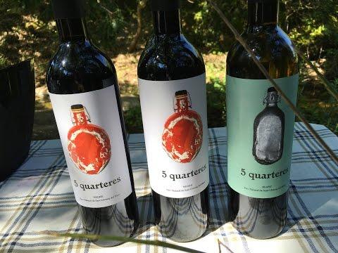 Neix el primer vi del Parc Natural de Sant Llorenç del Munt
