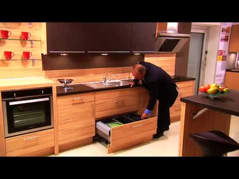 Quality Contemporary Kitchens   Innovative Cabinets.wmv   YouTube