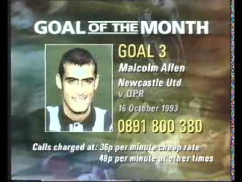 BBC Football - Goal Of The Month - October 1993