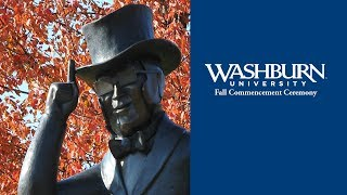 Washburn University   Fall 2018 Commencement