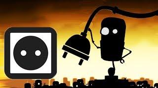 Приключение РОБОТА Робби в Спящем мире роботов. Мультик игра для детей