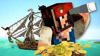 THE HIDDEN TREASURE!! | Minecraft Pirate Story
