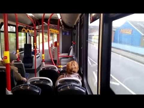 National Express West Midlands Alexander Dennis Enviro 200 870 SN15 LCU.  244 Dudley to Hayley Green