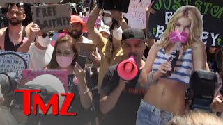 #FreeBritney Supporters Gather Outside Court to Show Their Support | TMZ