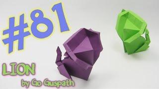 #81 Origami Lion  - Yakomoga Origami Tutorial