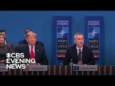 Allies caught on camera mocking Trump