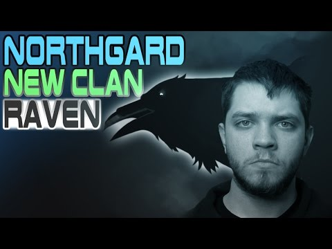 Northgard NEW CLAN UPDATE! - RAVEN - Huginn and Muninn - Trade & Ship Focused - Northgard Gameplay