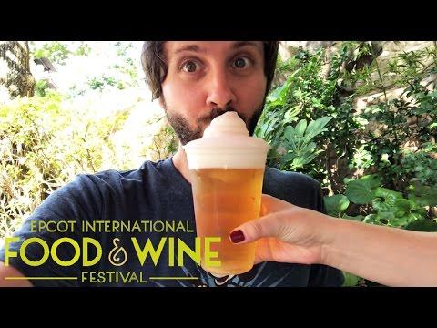 EPCOT FOOD & WINE FESTIVAL 2016 CHALLENGE! Part 1!