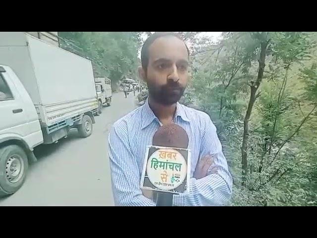 चम्बा/भरमौर ! दुनाली के पास धंसा डंगा भरमौर एनएच बंद !