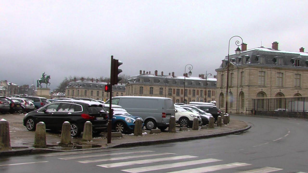 Intempérie : 5 cm de neige sur Saint-Quentin-en-Yvelines ce week-end