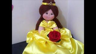 Como fazer a princesa Bela ( do desenho a Bela e a Fera)