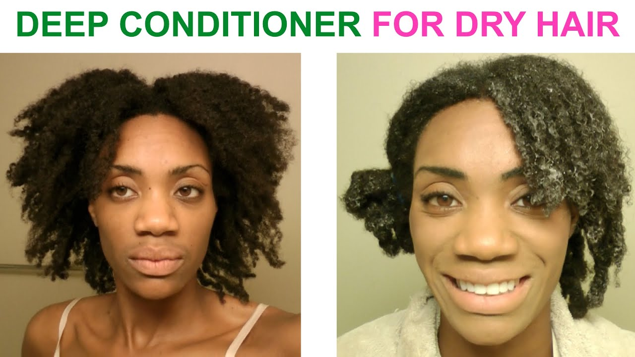 Diy Deep Conditioning Treatment For Dry Damaged Hair