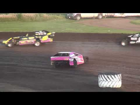IMCA Sport Mod feature Benton County Speedway 7/29/18