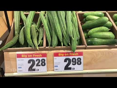 Grocery and vegetables prices