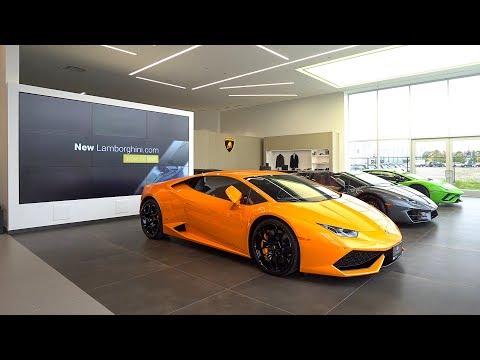 A Tour of Lamborghini Uptown Torontos New Dealership