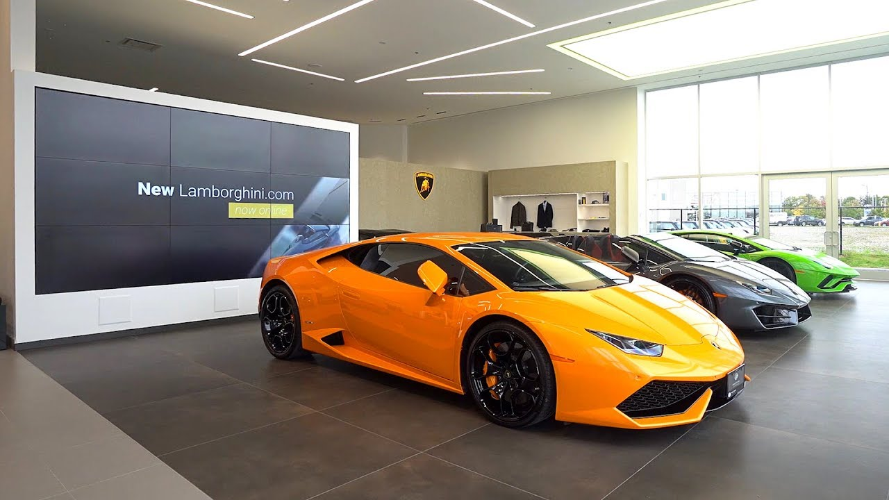 A Tour Of Lamborghini Uptown Toronto S New Dealership Youtube