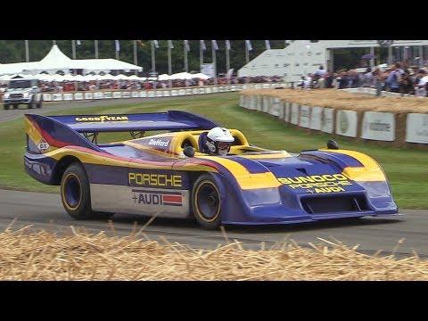 Porsche 917/30 Can Am - 1000+HP Twin Turbo Flat-12 Monster at Goodwood 2017!