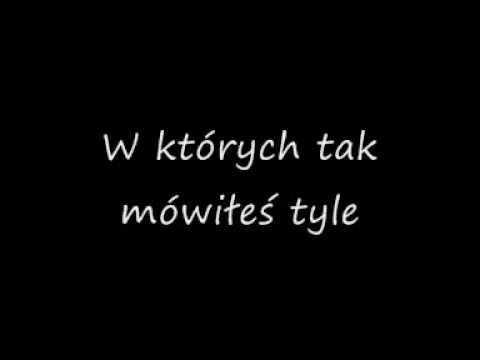 Gosia Andrzejewicz - Słowa (Lyrics)